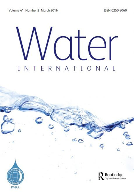 Water International Journal (Vol. 42, Issue 8) – November 2017