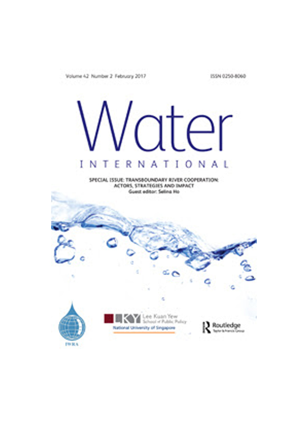Water International – Volume 42, 2017