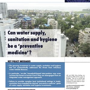 Water International Policy Briefs N° 1