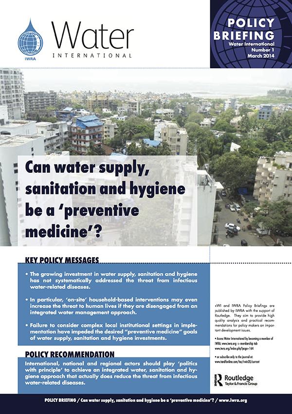Water International Policy Briefs N° 1