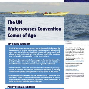 Water International Policy Briefs N° 2