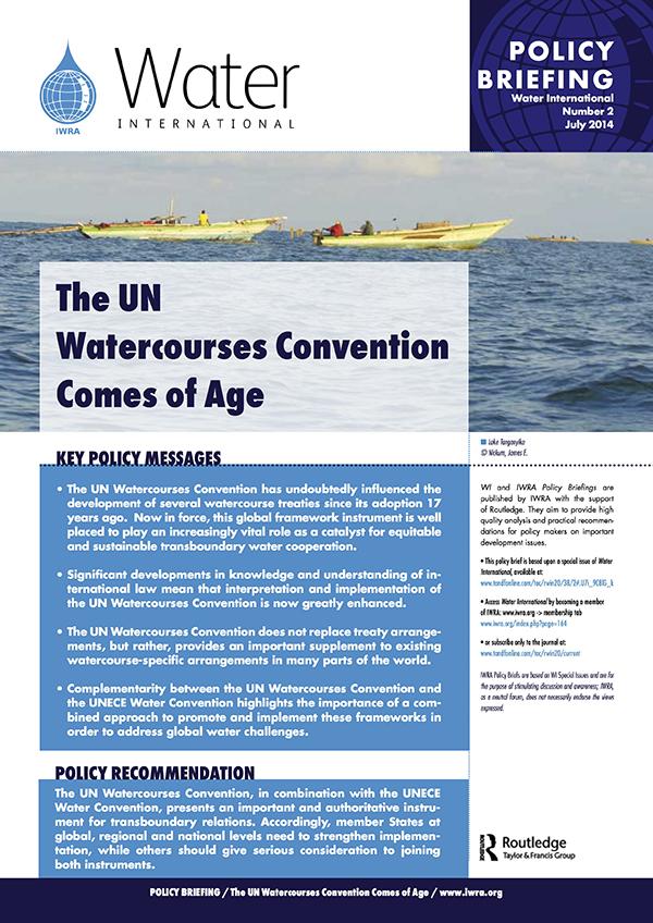 Water International Policy Briefs N° 2
