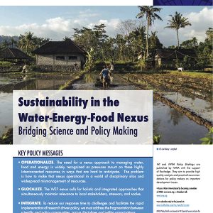 Water International Policy Briefs N° 6