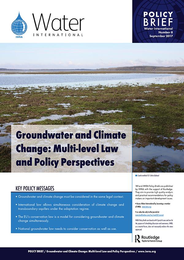 Water International Policy Briefs N° 8