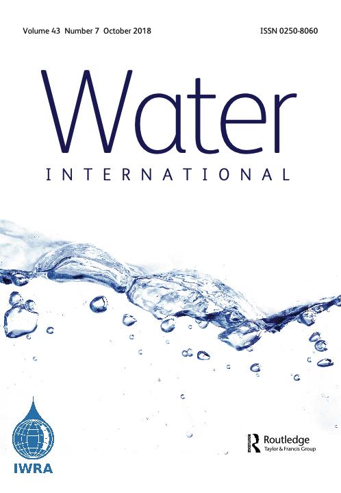 Water International Journal (Vol. 43, Issue 7, 2018)