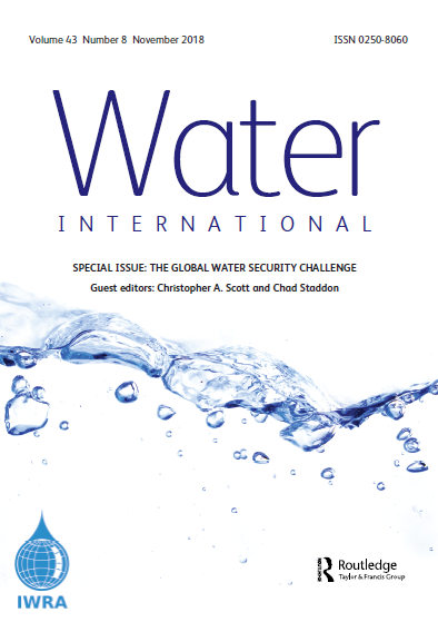 Water International Journal (Vol. 43, Issue 8, 2018)