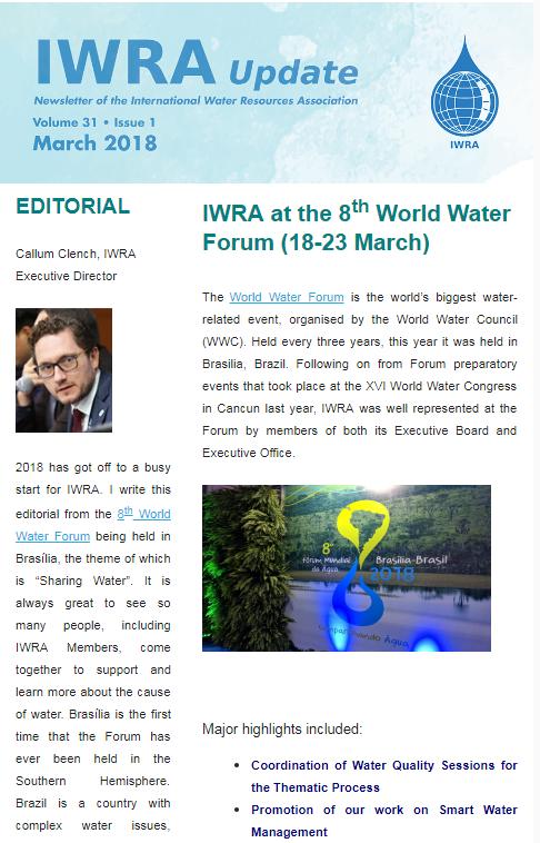 IWRA Update March 2018