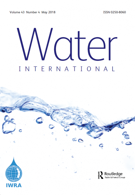 Water International – Volume 43:4 – May 2018