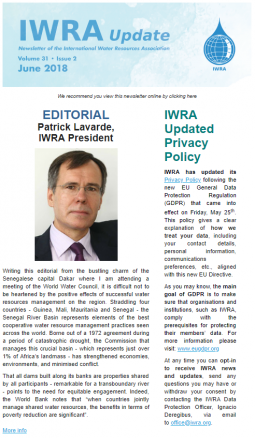 IWRA Update June 2018