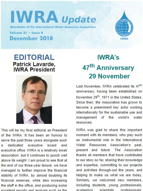 IWRA Update December 2018