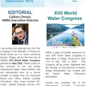 IWRA Update September 2018