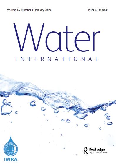 Water International Journal (Vol. 44, Issue 1, 2019)