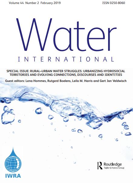Water International Journal (Vol. 44, Issue 2, 2019)