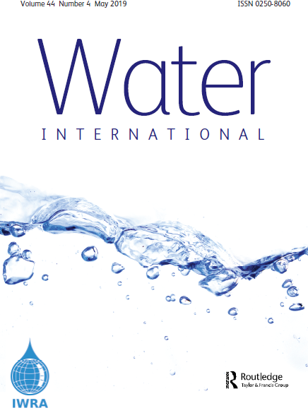 Water International Journal (Vol. 44, Issue 4, 2019)