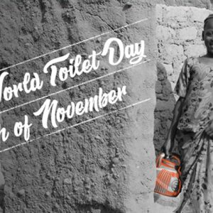 """Upcoming IWRA Webinar on """"World Toilet Day 2019 – Leaving No One Behind""""(19 November – 3pm CET)!"""