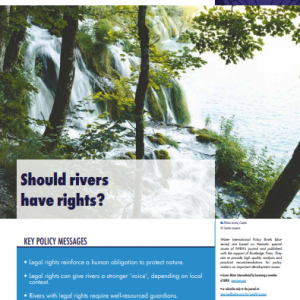 Water International Policy Brief N°13