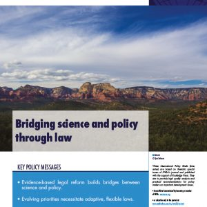 Water International Policy Brief N°14