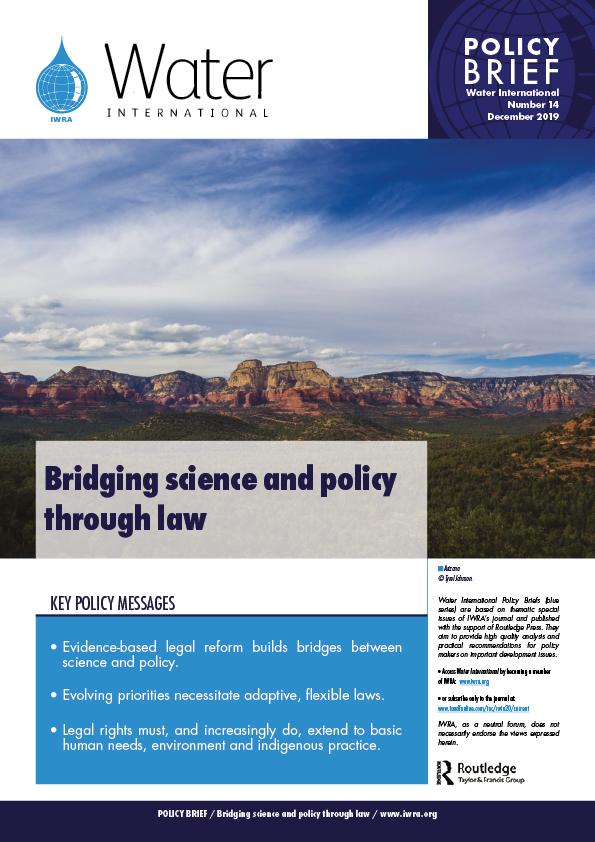 Water International Policy Brief N°14
