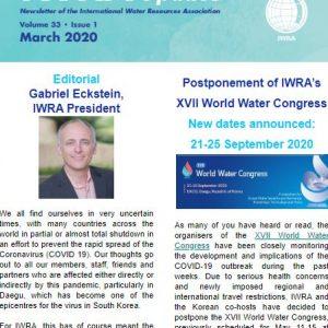 IWRA Update, March 2020
