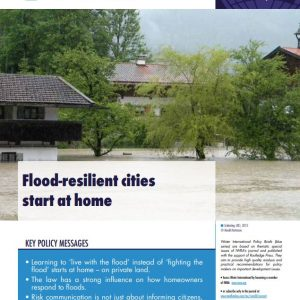 Water International Policy Brief N°15