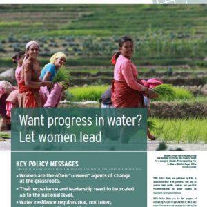 IWRA Policy Briefs N° 6