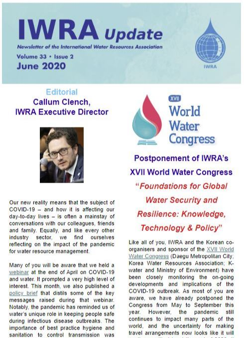 IWRA Update, June 2020