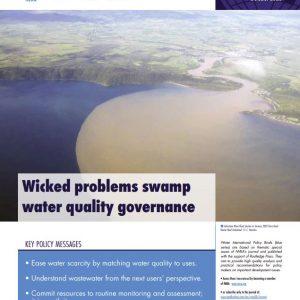 Water International Policy Brief N°18