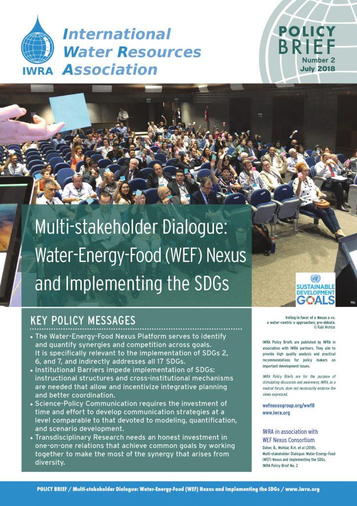 IWRA Policy Briefs N°2