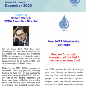 IWRA Update, December 2020