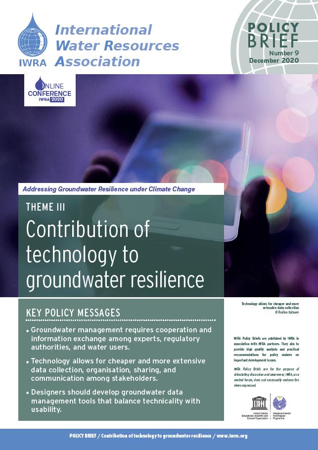 IWRA Policy Briefs N° 9