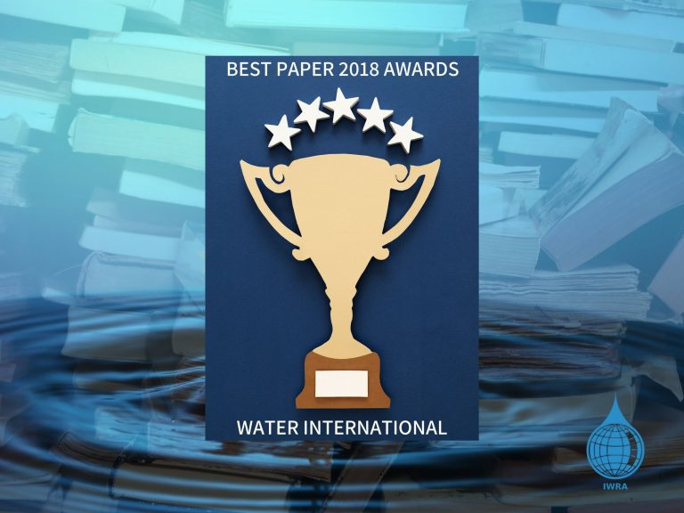 Just revealed! Check out the results of the Water International Best Paper 2018 Awards!