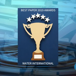 Just Revealed! Check out the results of Water international Best paper 2019 awards!