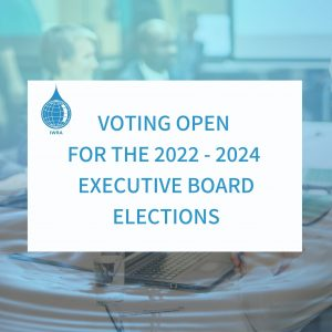Vote now! IWRA's 2022-2024 Executive Board Elections!