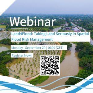 Register Now: Webinar on Land4Flood